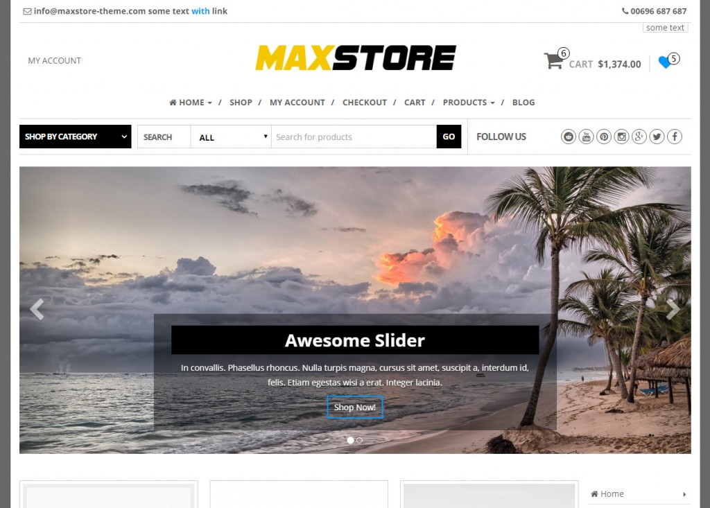 homepage-with-slider-slider-maxstore-pro